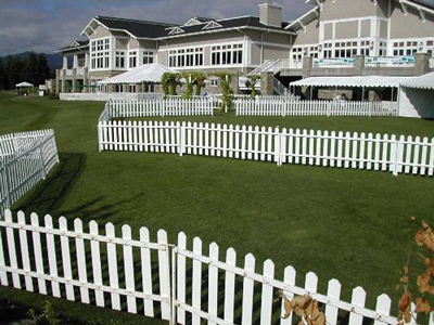 picket fence wedding Emerald City Fence Rentals