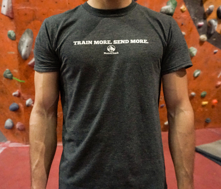 Men's Train More Send More NutriClimb T-shirt
