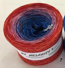funny_7_wolltraum_red_pink_blue_mixed_yarn
