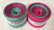 side_to_side_6_wolltraum_pink_fuchsia_lime_jade_green_gradient_ombre_yarn