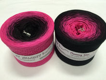 flaming_star_wolltraum_pink_fuchsia_black_yarn