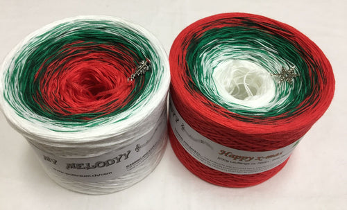 happy_xmas_wolltraum_white_red_green_gradient_yarn