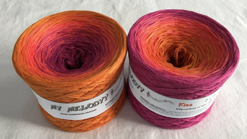 kiss_wolltraum_pink_fuchsia_orange_cognac_salmon_gradient_ombre_yarn