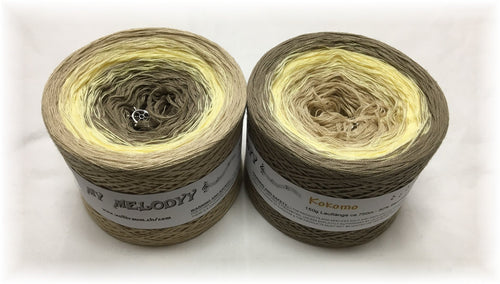 kocomo_wolltraum_beige_tan_yellow_khaki_mud_gradient_ombre_yarn