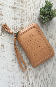 Metis Wallet - Honey Leather