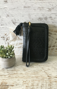 Metis Wallet - Black Leather