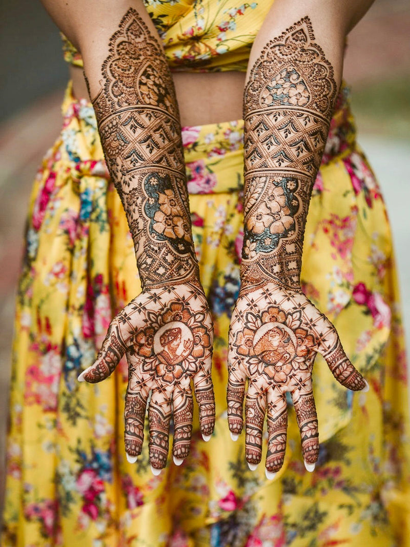 4 Mehndi Tips for a South Asian Bride - Harleen Kaur