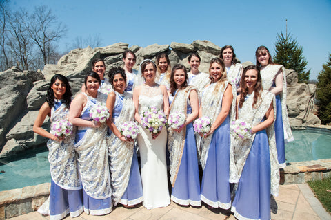 HK Custom Bridesmaids Lehengas