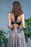 VIDYA Crepe Top with Triangle Ring - Back View - Harleen Kaur - Ethically Made Womenswear