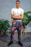 JEEVAN Tropical Floral Pant - Front View - Harleen Kaur - South Asian Menswear