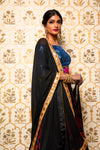 REMI Black and Mustard Dupatta