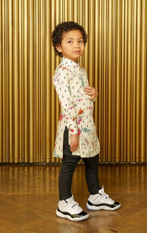 ARI Kids Pajama Pant - Side View - Harleen Kaur - Indian Kidswear