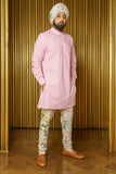 SAMIR Modern Kurta Shirt with Mandarin Collar - Front View - Harleen Kaur - Ethically Made Menswear