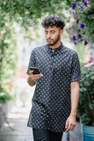 RAYMAN Polka-Heart Shirt - Front View - Harleen Kaur - Indian Menswear
