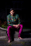 JAG Silk Pant - Front View - Harleen Kaur - Modern Indian Menswear