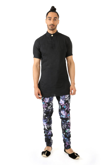 CARTER V-Neck Print Shirt
