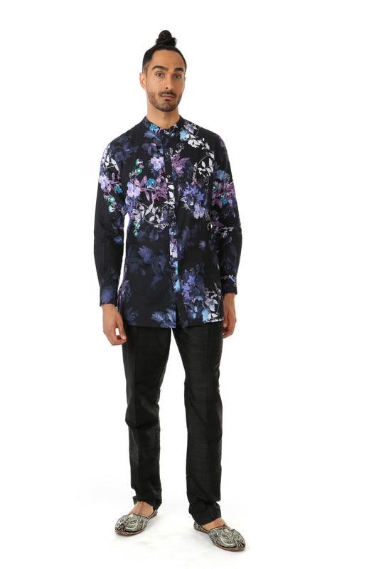 JEET Floral Cotton Kurta Shirt