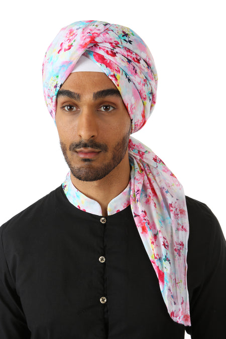 MAHA Tropical Floral Turban