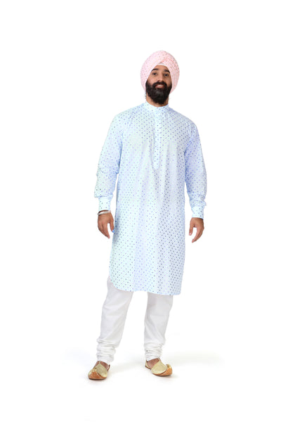 RANJA Tunic in Light Blue
