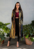 RANI Geo Jacquard Jacket Midi Dress - Front View - Harleen Kaur - South Asian Womenswear