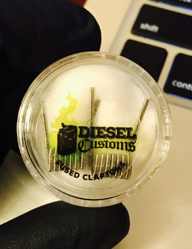 Diesel Customs SS316L 24/34 Fused Clapton's