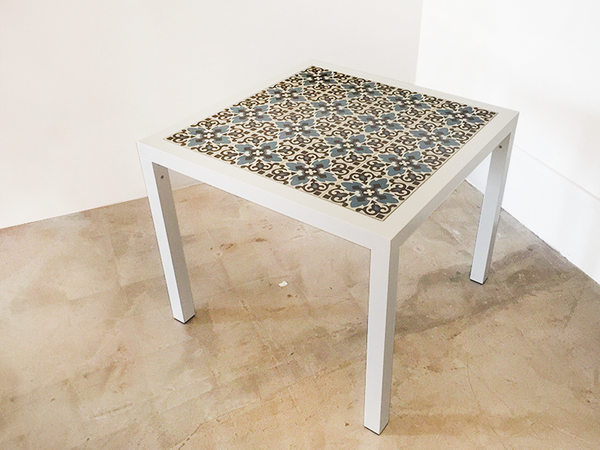 Dining Table (Versailles Azure Tile)