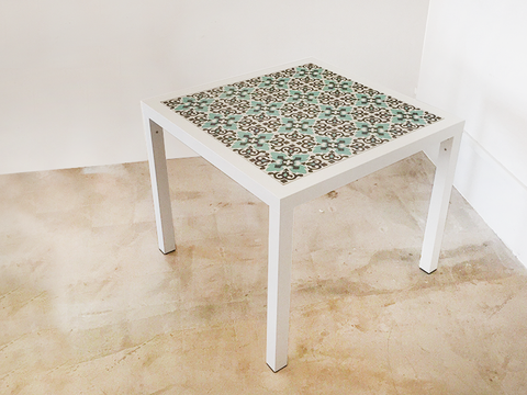 Dining Table (Versailles Jade Tile)