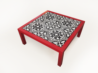 Coffee Table (Peranakan Black Tile)