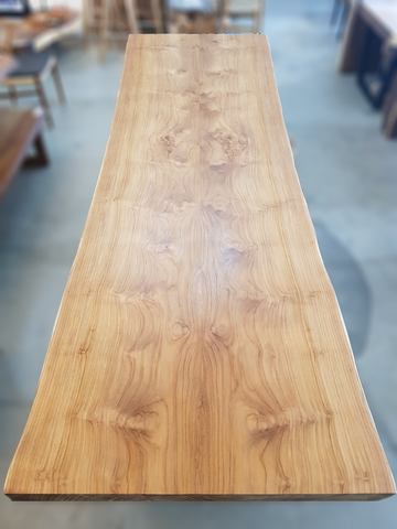 L330 CM Book-Matched Teak Table