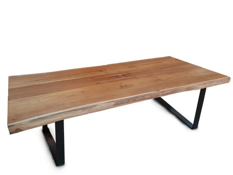 L212 CM Book-Matched Teak Table
