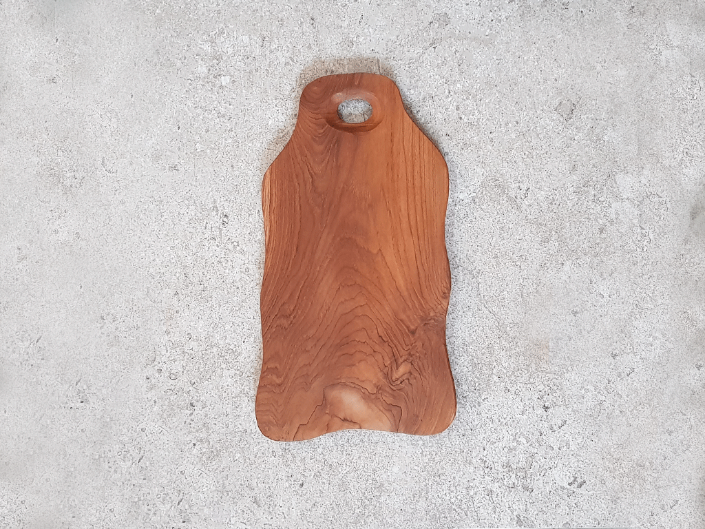 Solid Teak Cutting Board (Medium) #TM003