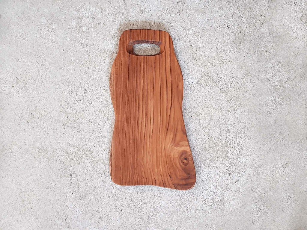 Solid Teak Cutting Board (Medium) #TM001