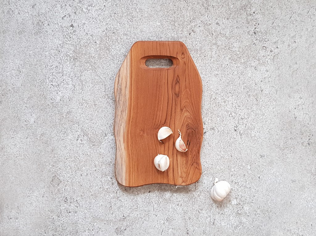 Solid Teak Cutting Board (Small) #TS002