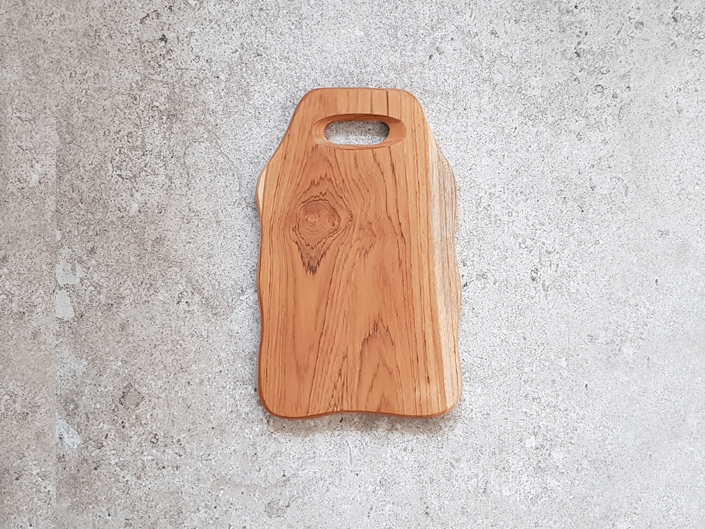Solid Teak Cutting Board (Small) #TS001