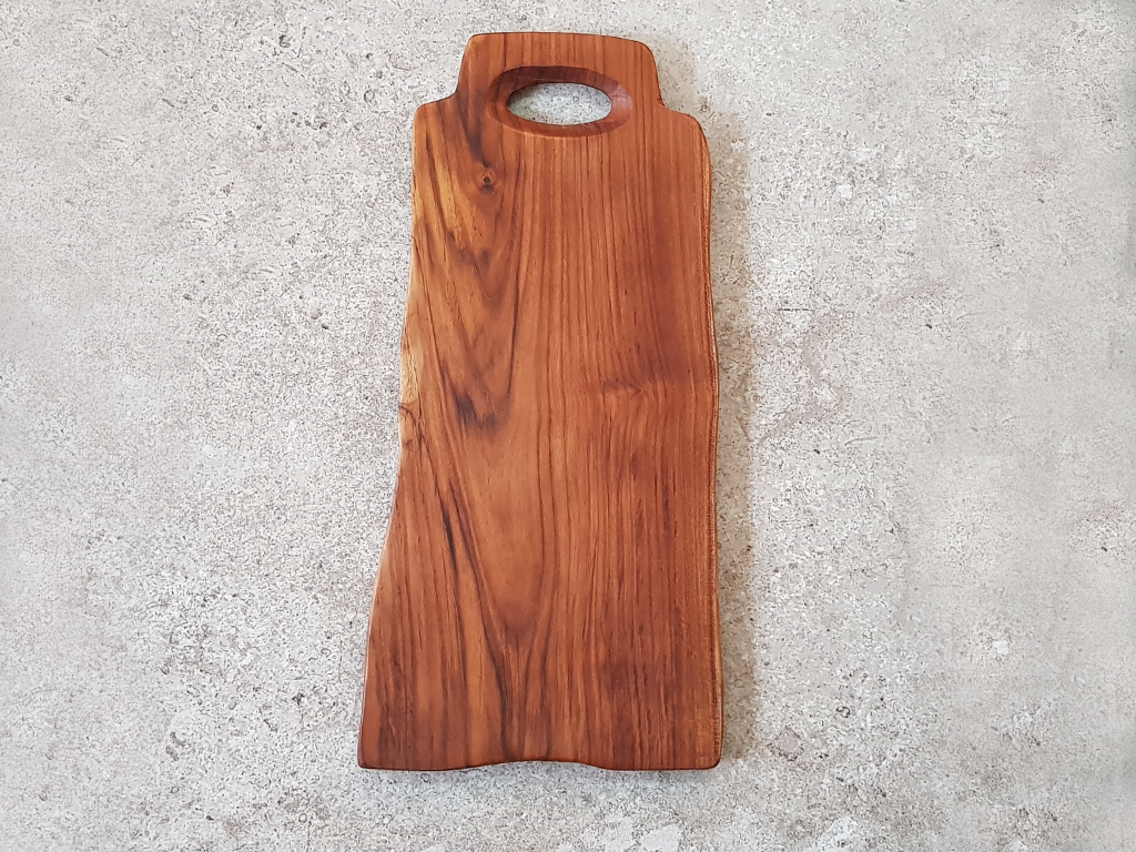 Solid Teak Cutting Board (Large) #TL003