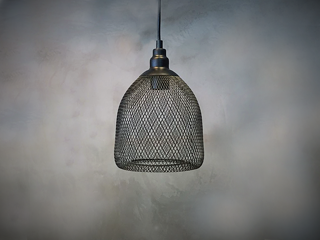 Wire Pendant Lamp #4