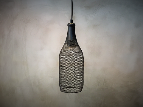 Wire Pendant Lamp #1