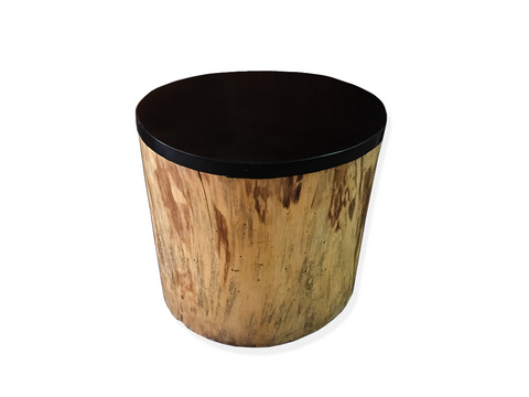 Suar Stump Side Table