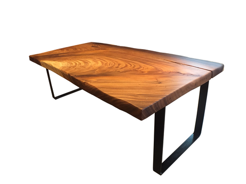 2.18m Suar Dining Table (Premium Grain)
