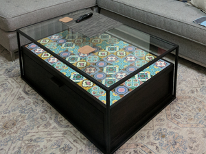 Peranakan Coffee Table<br>Drawer Base</b>