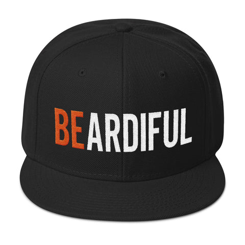 Beardiful® Snapback Hat