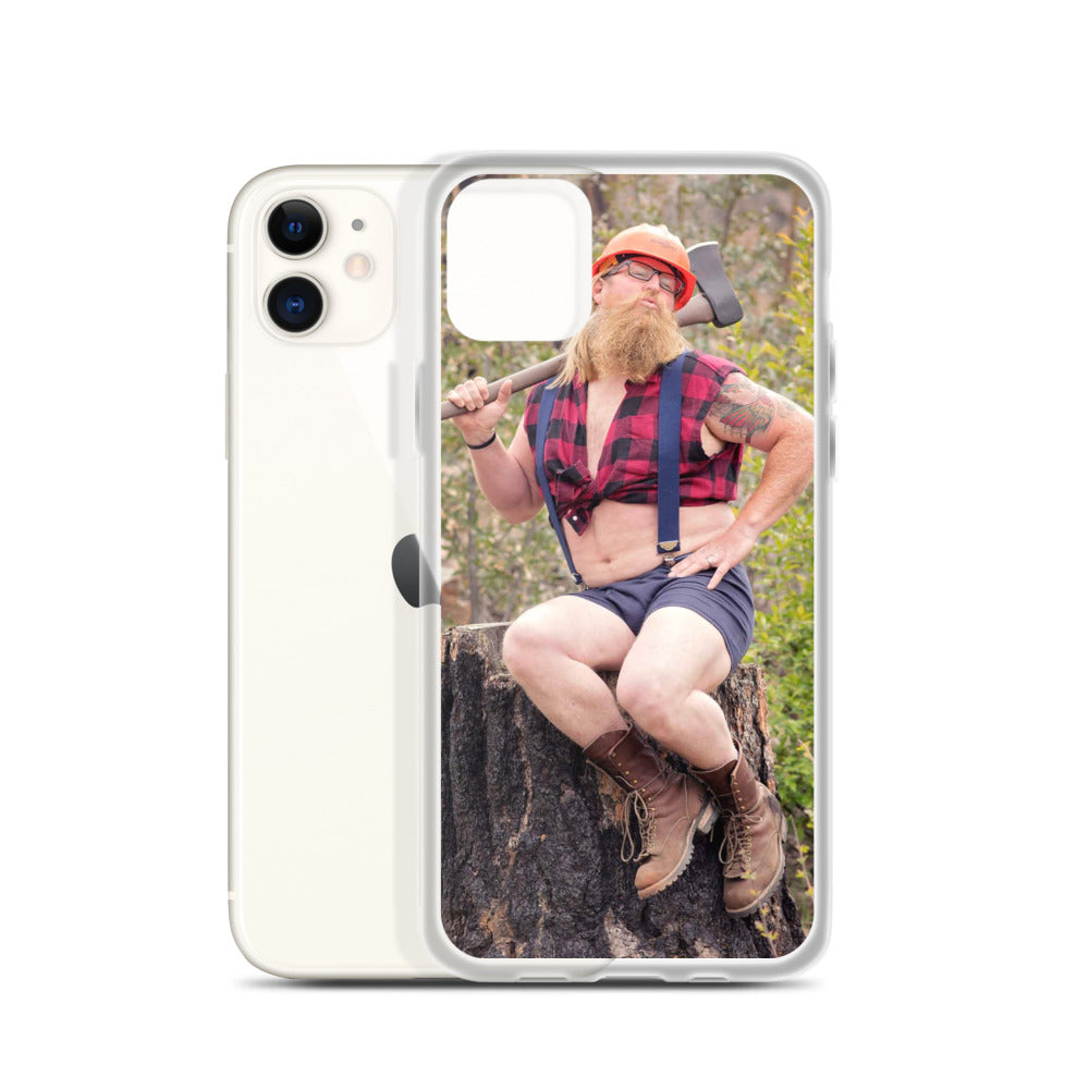 The Whimsical Woodsman iPhone Case