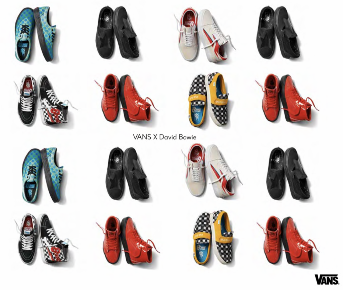 David Bowie Sneakers