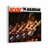 AC/DC 74 Jailbreak Cover Canvas Art