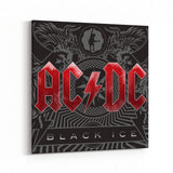 AC/DC Black Ice Canvas Art