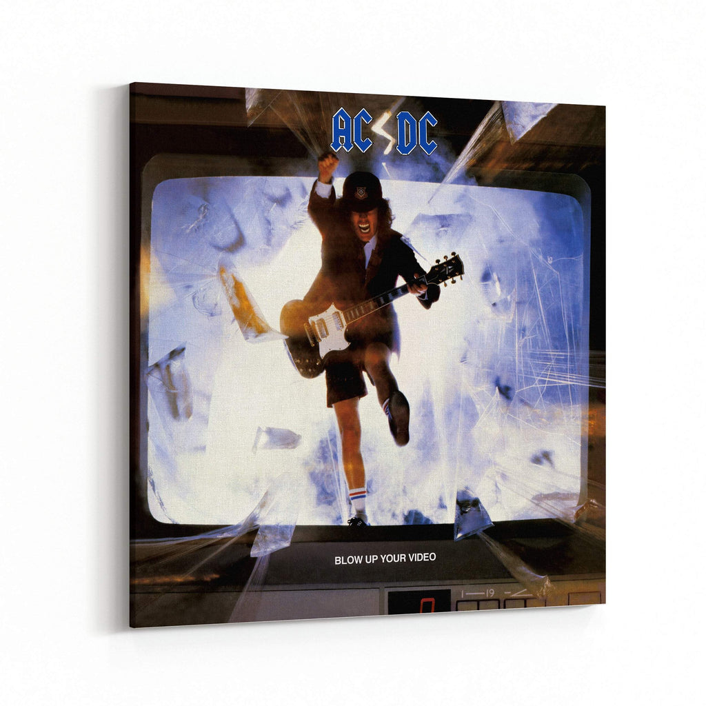 AC/DC Blow Up Your Video Canvas Art