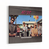 AC/DC Dirty Deeds Cover Canvas Art