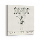 AC/DC Flick Of the Switch Canvas Art