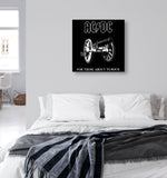 Canvas AC/DC For Those About to Rock Canvas Art