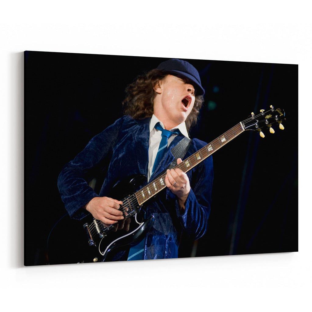 AC/DC Hear Him Play Canvas Art